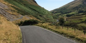 Ystwyth Valley on the Elan Mountain Road