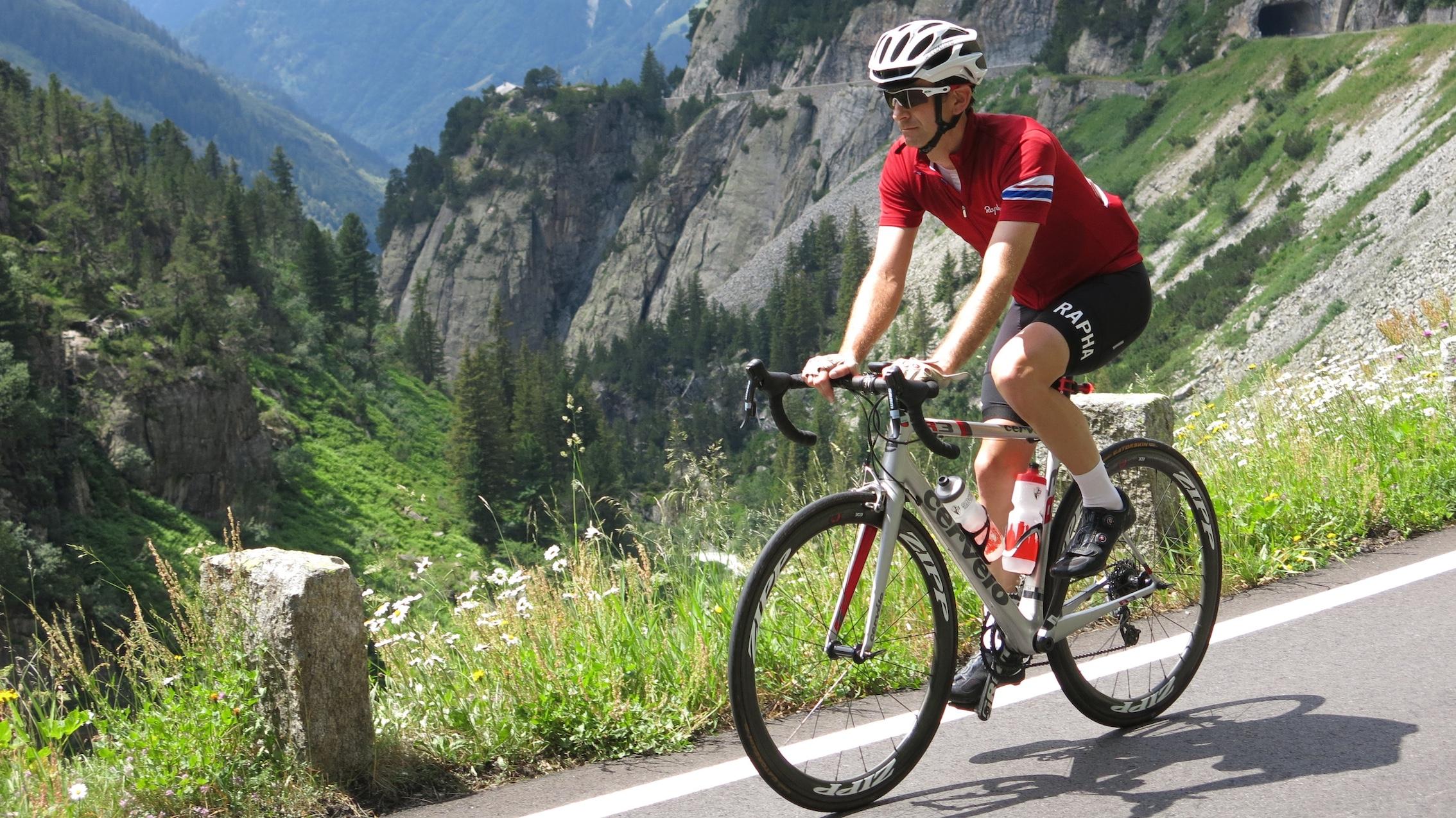Ricardo Green: KOM, Tour de Suisse 2015. Photo by Jimi Thomson.