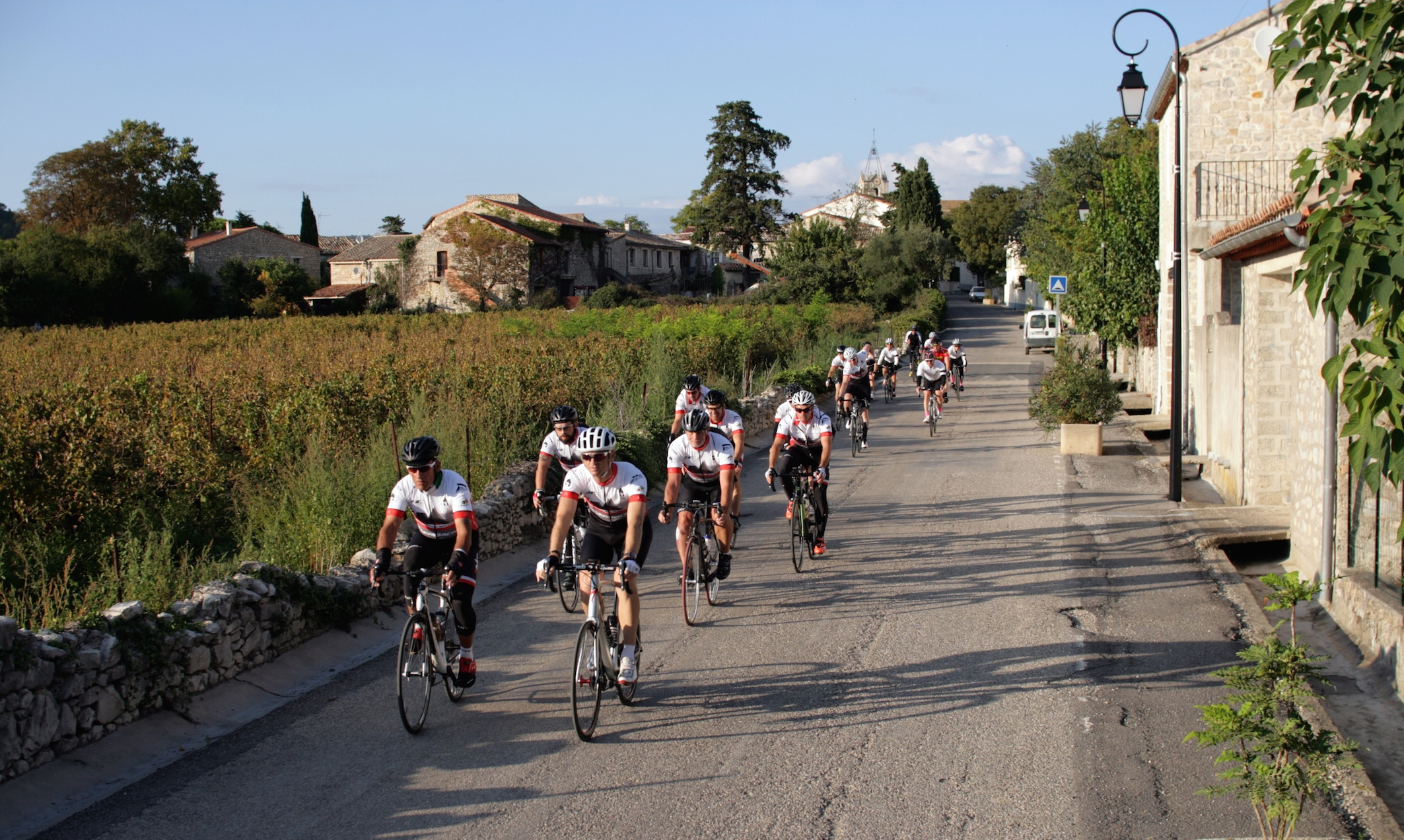 Team LMT - almost 2,000km and 38,000m: 100 cols, 11 riders, 10 days, one team.