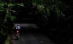 Some of your ride will inevitably be in the dark, but ideally you want this to be as short as possible.