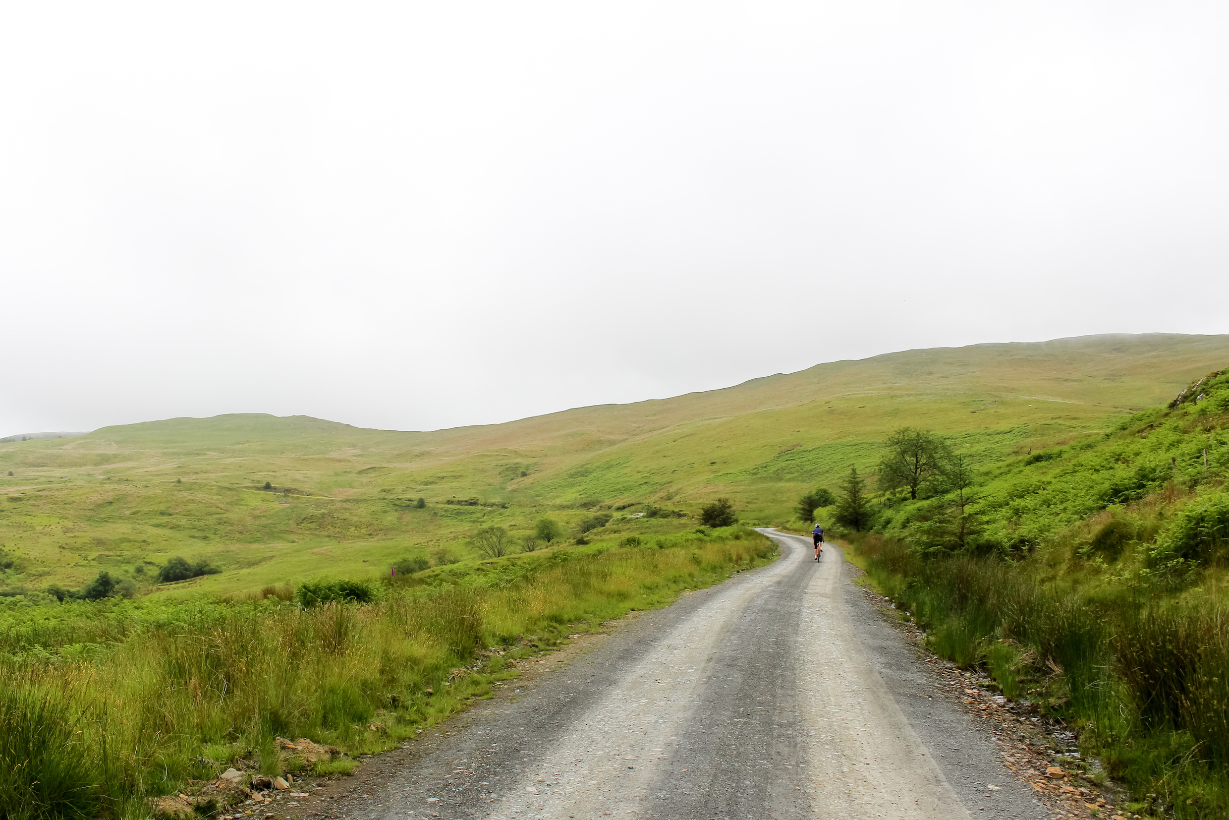 Mynydd Graean: a 10.3km gravel climb in the Cambrian Mountains, Wales.