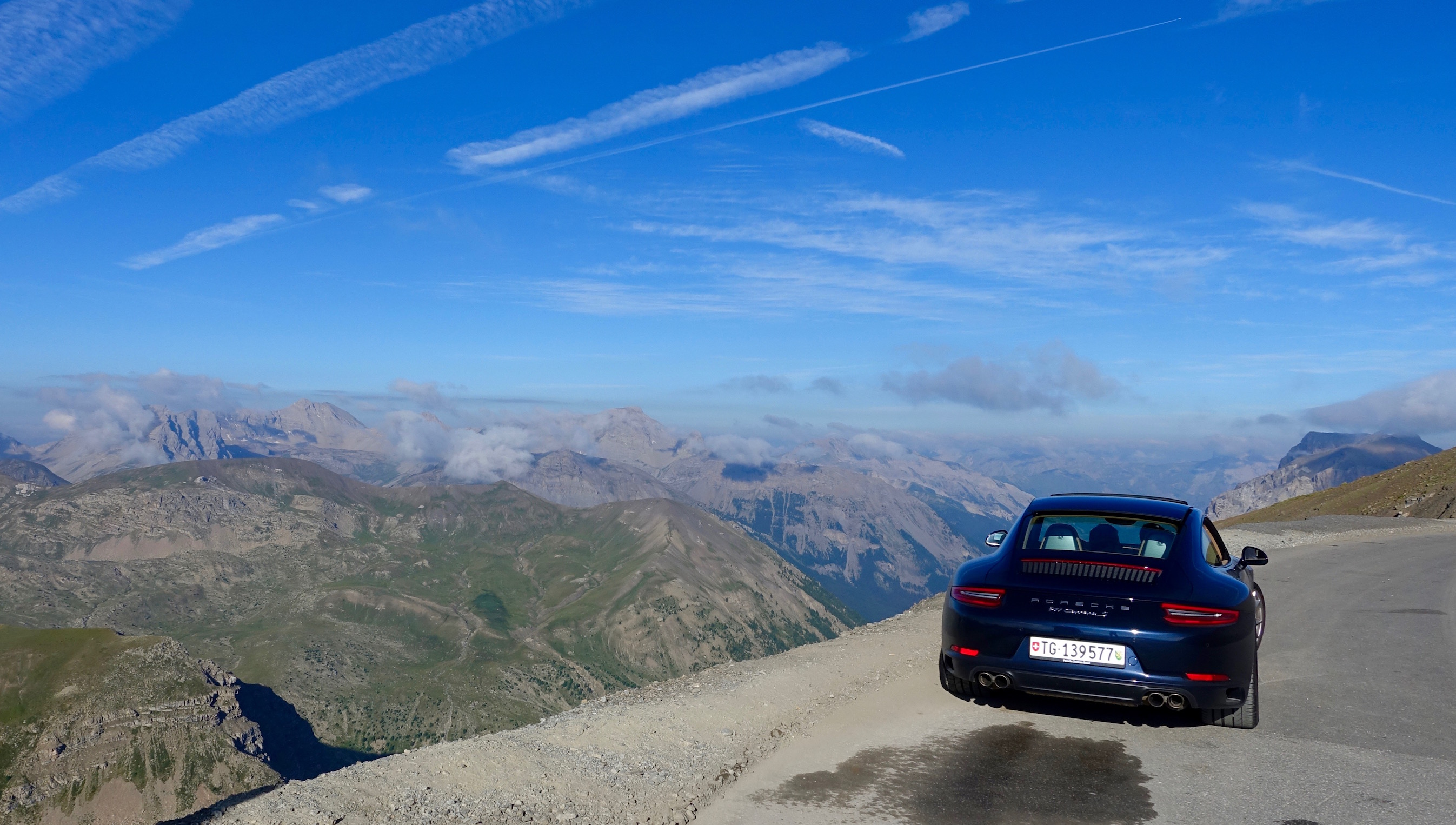 It has to be said, driving an empty road up the Bonette in a 911 was probably a lot of fun!