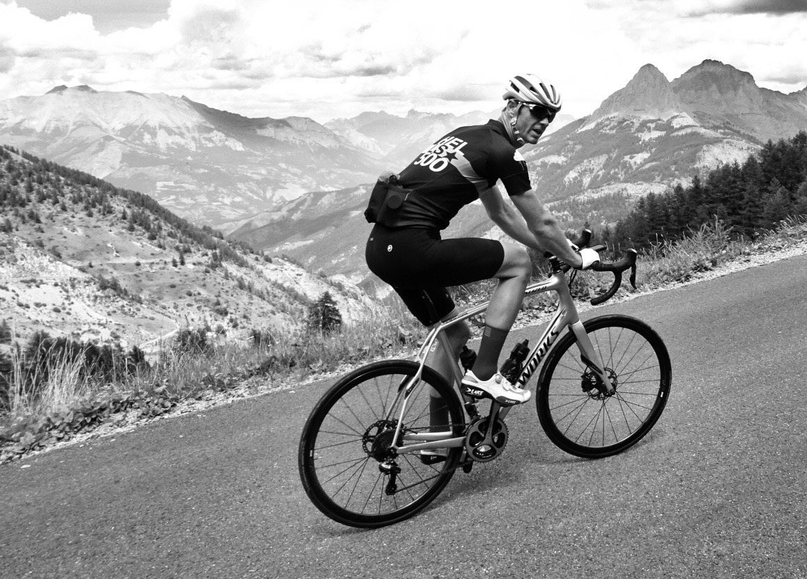 SGL, on the Col d'Allos the following day.