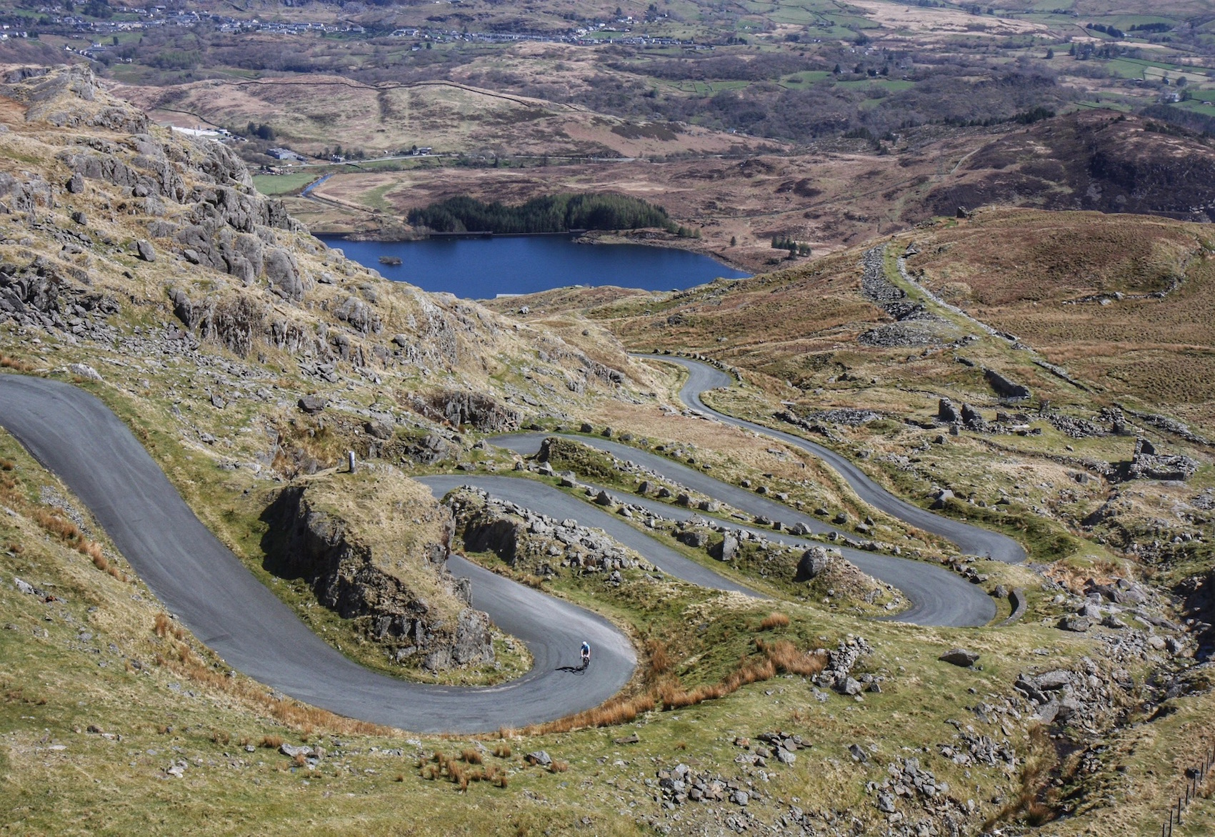 Everesting #5: Stwlan Dam, Snowdonia: Beauty and the Beast