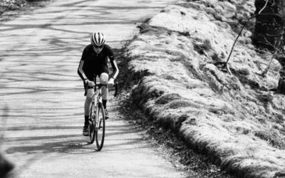 Cycling an Everesting Roam on Exmoor, UK